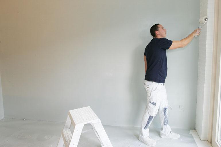 Meubels Verven Met Latex Muurverf.Muren Schilderen In Rotterdam En Omgeving Voordelig Vakwerk
