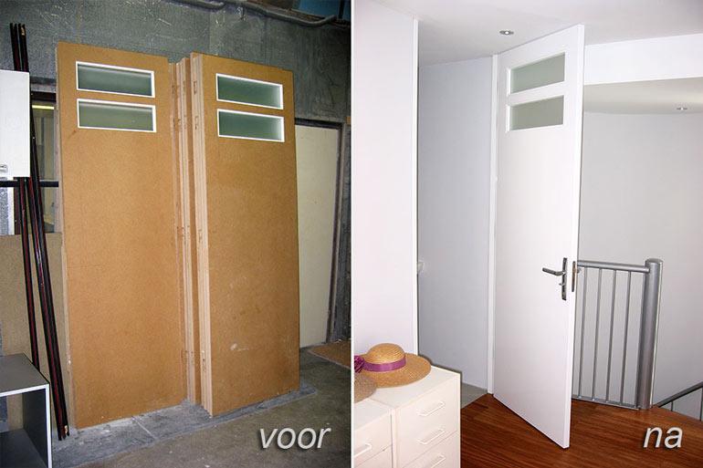 schilderwerk binnendeuren door binnenschilder