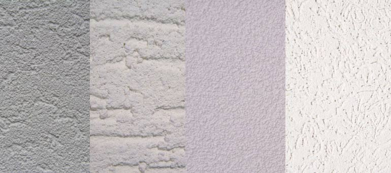 sierpleister voorbeelden structuren en kleuren